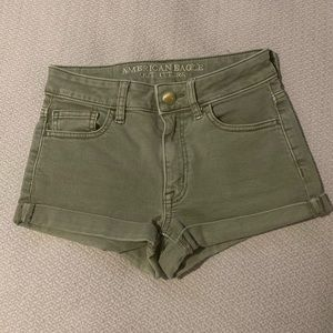 American Eagle High-Rise Shorties